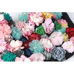 Image 4 - TWOTWINSTYLE פרח טלאים סקסי נשים אפוד שרוולים להיט צבעים סטרפלס יבול למעלה נקבה מקרית קיץ 2020 אופנה חדשה