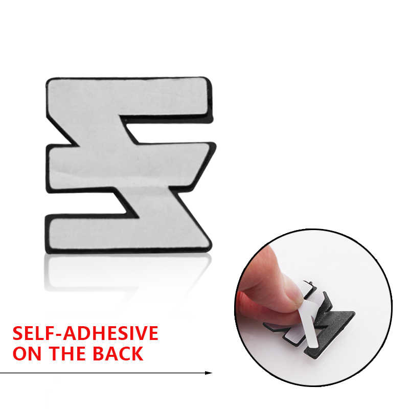 3D Logam DIY Arc Huruf Digital Emblem Decal Stiker Mobil Logo Kustom untuk Kia Sportage Jtsl Rio 3 4 Cerato picanto 2018 2019 Bekas Warna