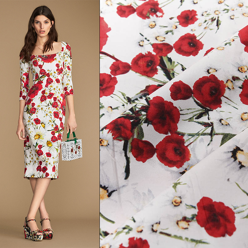 Bredde 140cm høj densitet ren bomuldsstof til kjole DIY bazin riche getzner telas billige stoffer tissus au meter telas tissu