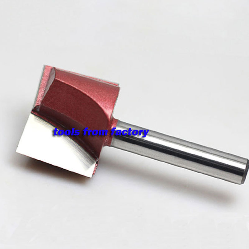 1pc 6*30 Woodworking Milling Cutter Cnc Carving Tools Wood Router Bits 1pc 1 4shk 1 4 5 16 cnc woodworking cutter engraving tool gong cutter dovetail milling cutter