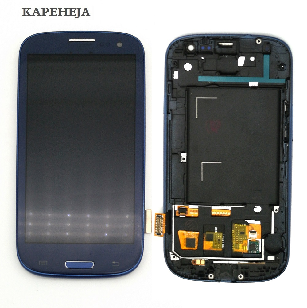 Can adjust brightness <font><b>LCD</b></font> For <font><b>Samsung</b></font> <font><b>Galaxy</b></font> <font><b>S3</b></font> I9300 <font><b>LCD</b></font> Display Touch <font><b>Screen</b></font> Digitizer Assembly with Frame image