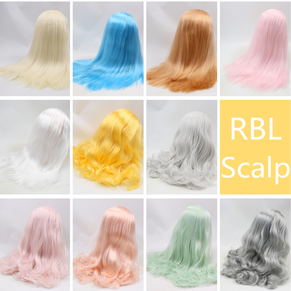 RBL Blyth Doll Scalp Wigs Including the hard endoconch series32 Factory Blyth