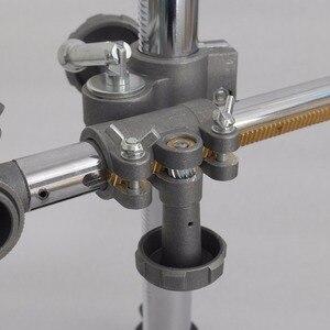 Image 5 - Sobre 50 vendido 36x33cm suporte titular da tocha de soldagem mig gun titular braçadeira montagens mig mag co2 tig positioner plataforma giratória