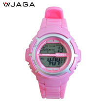 JAGA New Style Kids Sports Watches Waterproof Fashion Casual Digital LED Multi-Function Wristwatches Horloges Vrouwen M1085
