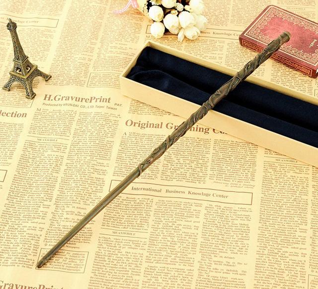 Nuevo Harry Potter Hermione Granger Varita Mágica Varita Mágica Caja de Regalo de Embalaje de Alta Calidad