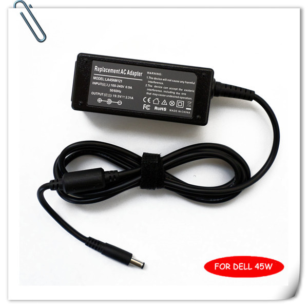 US $12 08 6% OFF|19 5V 2 31A 45W Laptop Ac Adapter Battery Charger for Dell  Ultrabook XPS 12 13 13D Power Supply Cord carregador notebook caderno-in