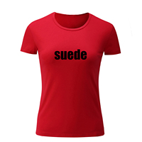 Suede Rock Band Letter Print Summer Short T Shirt Women S Girl S Ladies T Shirt