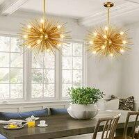 led e14 Postmodern Iron Golden Designer LED Lamp LED Light.Pendant Lights.Pendant Lamp.Pendant light For Dinning Room Foyer