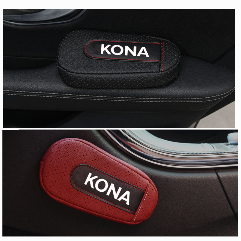 Stylish and comfortable Leg Cushion Knee Pad Armrest pad Interior Car Accessories For Hyundai Kona