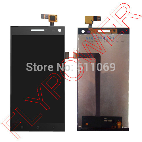 все цены на  For Elephone p2000 MTK6592 lcd screen display+touch screen digitizer assembly by free shipping; black  онлайн