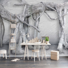 popular black white tree wallpaper buy cheap black white tree