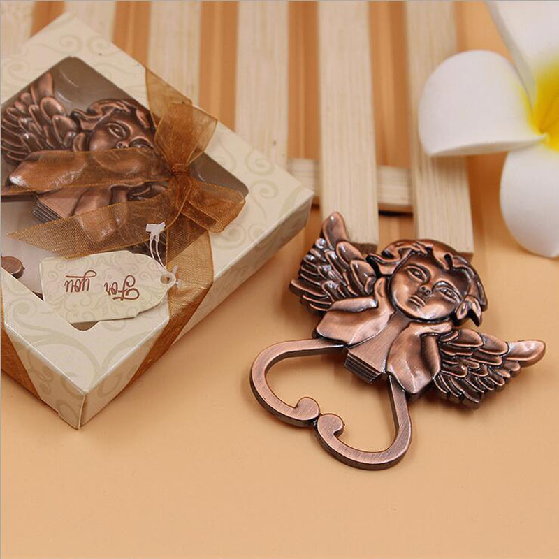 Festive & Party Supplies Humble 10pcs/lot Souvenir Wedding Gifts Personalized Beer Opener Retro Baby Angel Opener Party Favors Alloy Presents For Wedding Guest
