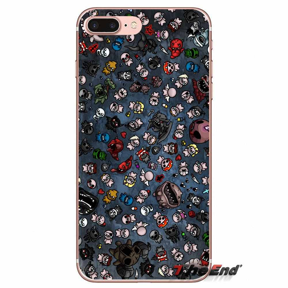 3ae93719bce131 ... The Binding of Isaac Rebirth Game TPU Case For iPhone X 4 4S 5 5S 5C