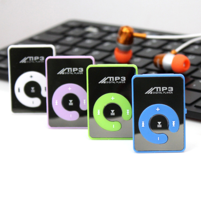 Big promotion Fashion Mini Clips mp3 Player sports Portable mp3 music player media player Supports 1-8GB Micro SD