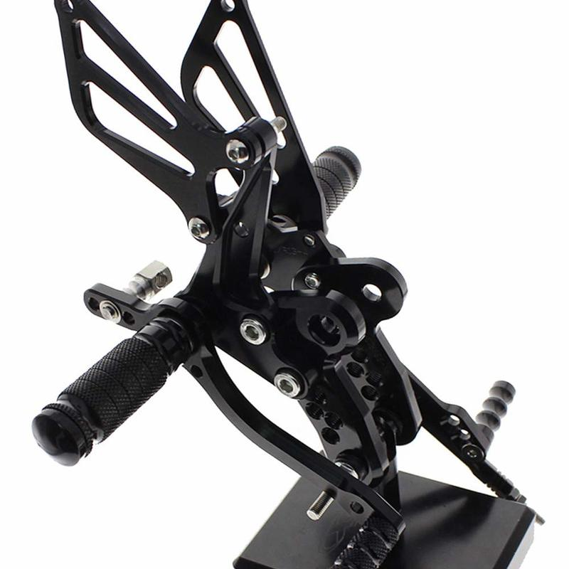 Adjustable Footpegs Pedals Rearset Footrest Rear Set For <font><b>SUZUKI</b></font> <font><b>GSXR1300</b></font> <font><b>HAYABUSA</b></font> GSX 1300R 1999-2012 image