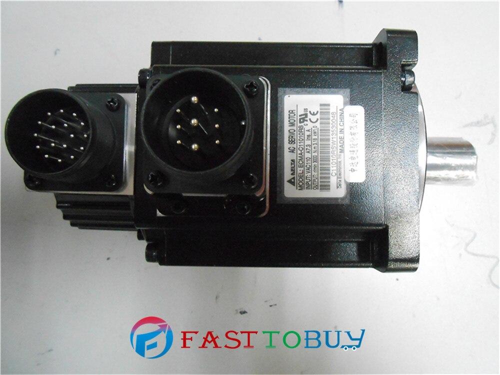 Delta AC Серводвигатель 220В 1кВт 3.18нм 3000 об/мин ECMA C11010RS с замочком для масла