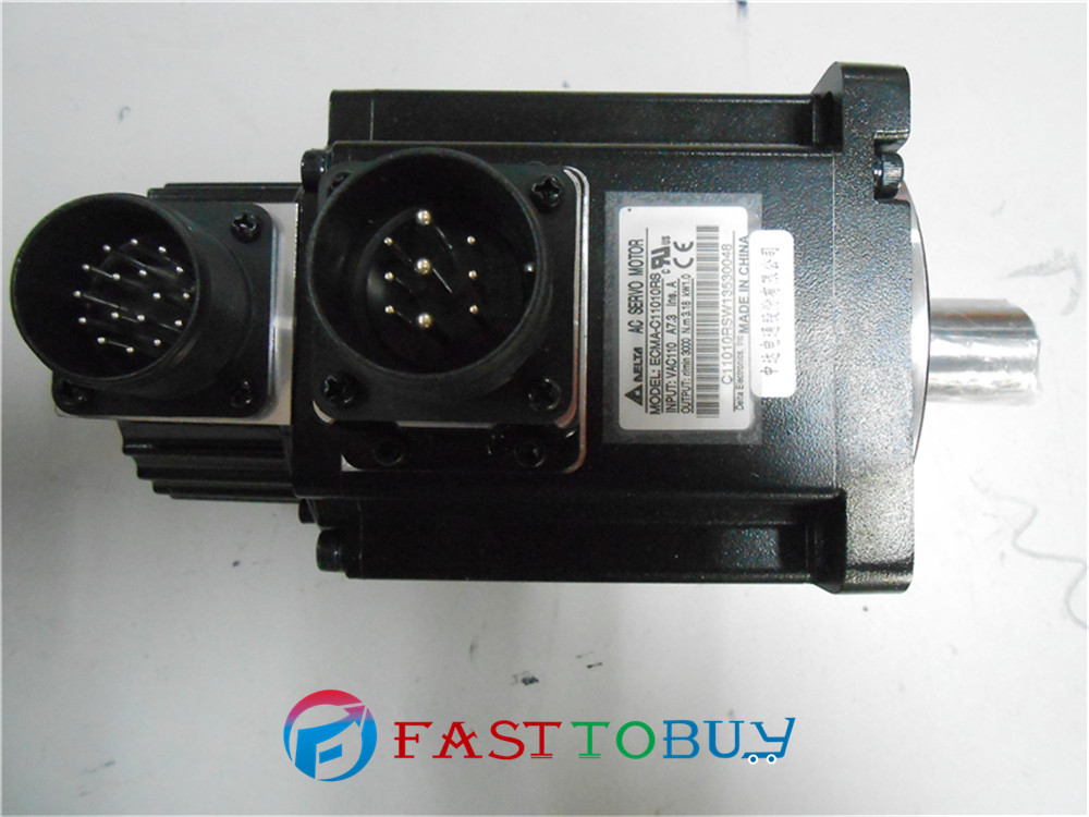 Delta AC Servo Motor 220V 1kW 3.18NM 3000rpm ECMA-C11010RS with Keyway Oil Seal New new original 750wa2 series motor ecma c10807rs 220v 750w 2 39nm 3000rpm ac servo motor with keyway oil seal