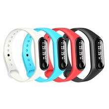 M3 Smart Wristband Bracelet Heart Rate Blood Pressure watch Fitness OLED Tracker For Iphone Xiaomi PK Xiaomi Mi Band 3