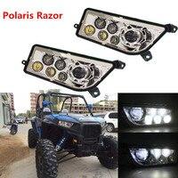 Auto Accessories Polaris razor 1000 LED Headlight UTV ATV LED headlamp led car headlight for Atv Polaris razor