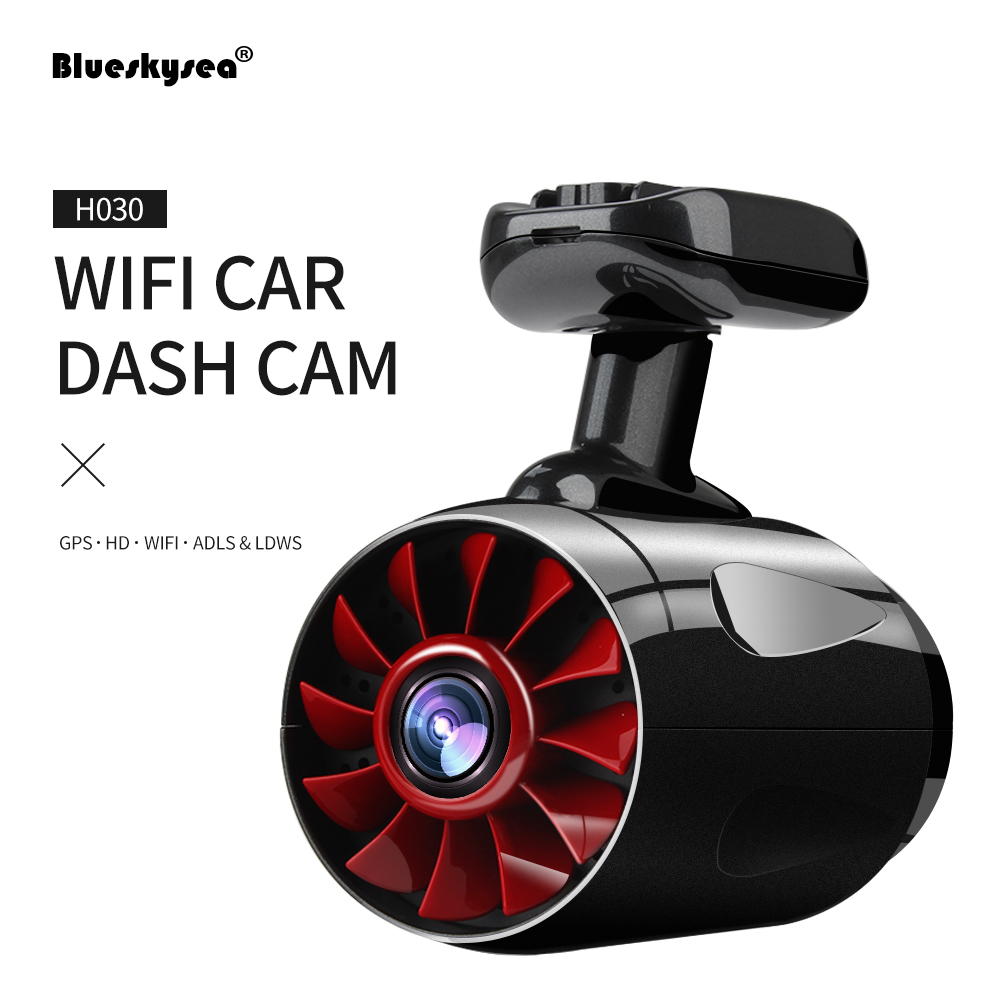 2017 WIFI Car DVR Dash Cam H030 HD 1296P Digital Video recorder Camera Ambarella A12 GPS Camcorder Blackbox Night Vision Car DVR 12v night vision mini hd 1080p wifi car video recorder camera dash cam hd