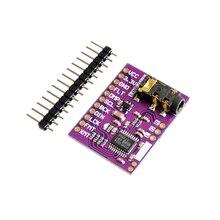 Pcm5102a placa de placa de som dac phat 3.5mm estéreo jack 24 bits módulo de áudio digital para raspberry pi além es9023 pcm1794