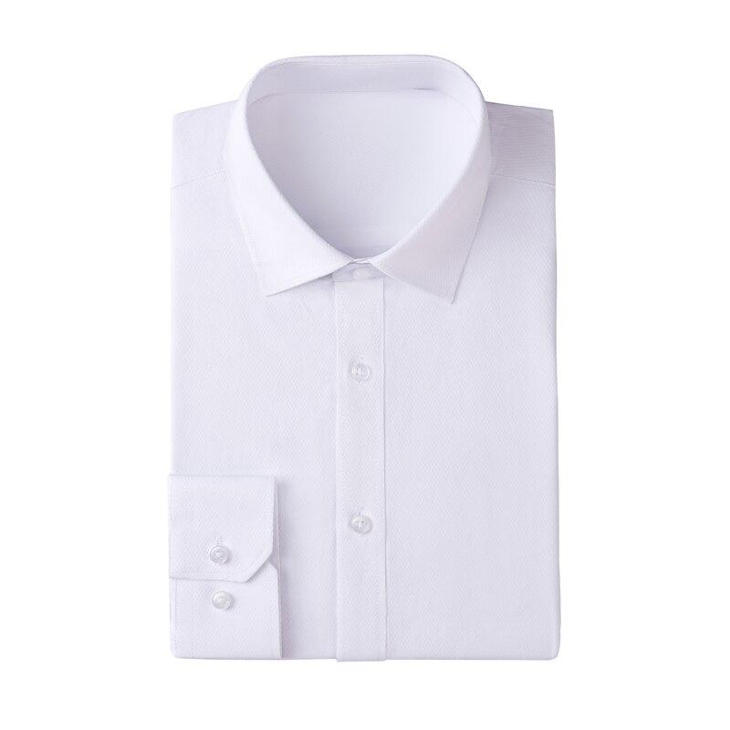 Men's Dress Shirt Fitted Poplin Solid 1