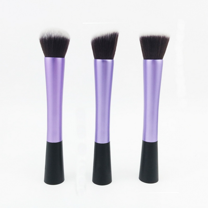 Merrynice HOT 3pcs set Pro Foundation Blush Blending Eye shadow Makeup Brush Cosmetics Flat Round Angled