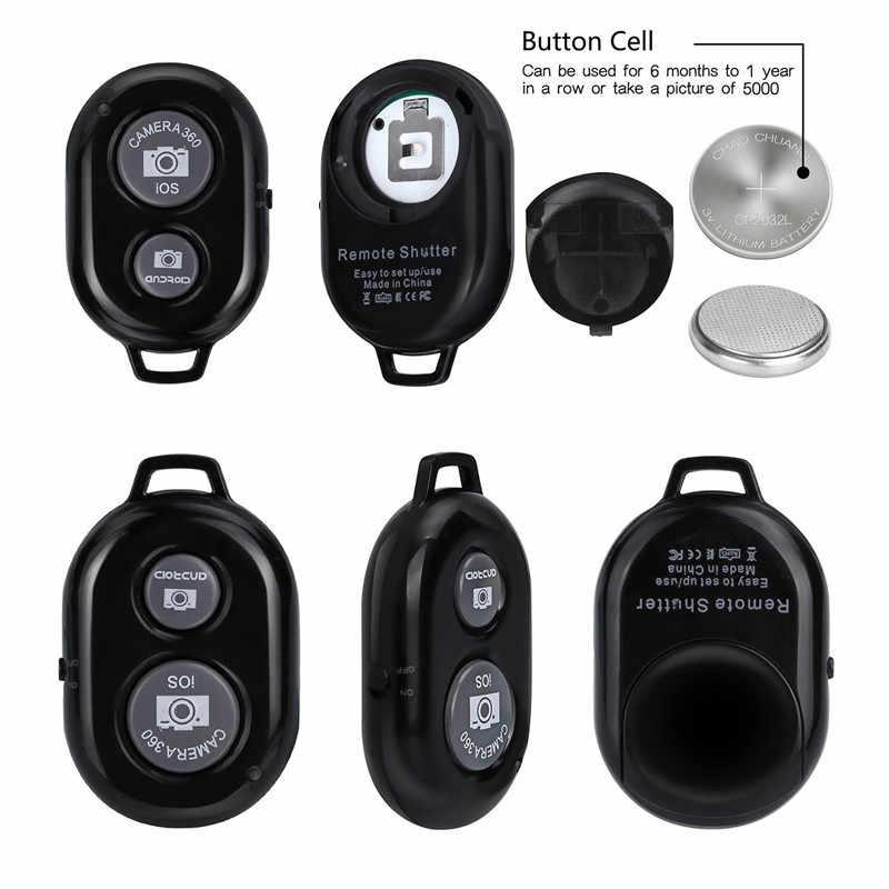Nirkabel Bluetooth Smart Ponsel Kamera Remote Control Rana untuk Selfie Stick Monopod Kompatibel Android IOS iPhone X Iphone 8