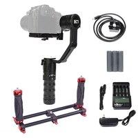 EC1 2KG bear 3 axis Handheld Gimbal 360 degrees DSLR Gimbal steadicam camera stabilizer for DSLR Camera Digital camera camcoder