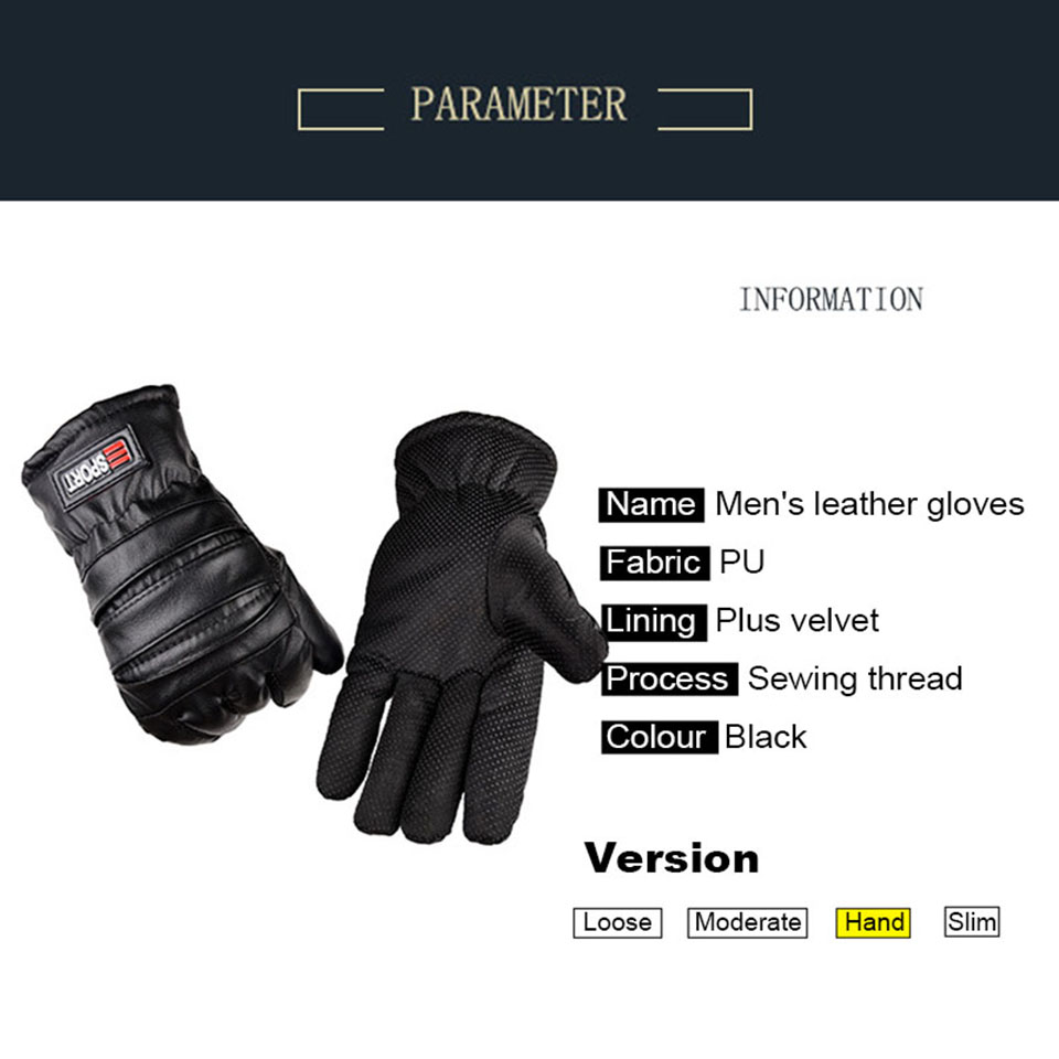 winter gloves mens thermal Waterproof Windproof touch screen Outdoor cycling Non-slip wear ski Snowboarding gloves (6)