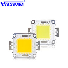 Vacamm LED Light Matrix 10W 20W 30W 50W 100W Highly Bright Smart IC Chip Lamp White/Warm White For Spotlight Floodlight Garden(China)