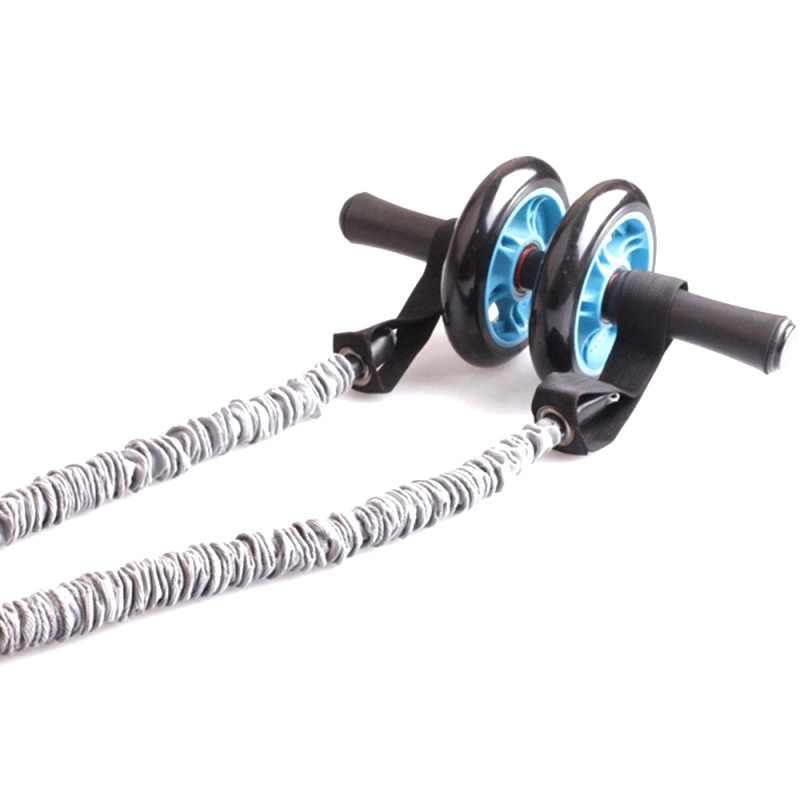 Ab Roller koła ciągnąć liny talii brzucha odchudzanie Fitness na świeżym powietrzu taśmy oporowe do ćwiczeń odporność na koło brzucha szkolenia