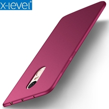 X-Level Brand Guardian Series Naked Matte TPU Shell Back Case For XiaoMi RedMi Note 4 / Note 4X Phone Cover Light & Thin