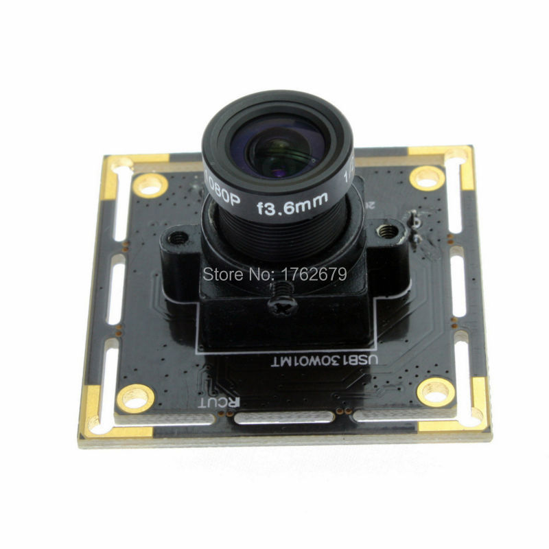 Wide angle 2.1mm lens monochrome usb camera 1.3MP 1280X960 MJPEG 15fps Linux Android Windows B/W usb camera pcb