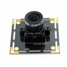 Wide angle 2.1mm lens  monochrome usb camera 1.3MP 1280X960 MJPEG 15fps Linux Android Windows B/W usb camera pcb