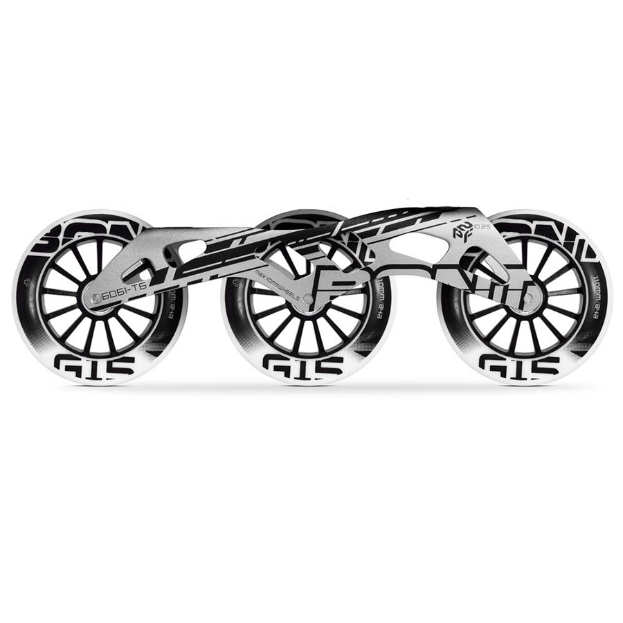 100% Original Bont 2PF Speed Inline Skate Frames With 3 110mm G15 G16 Skating  Wheels ABEC-5 165-195mm Distance Patines Full Base d2c6f91071