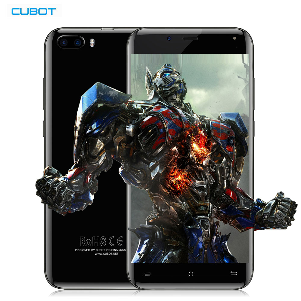"CUBOT R9 MTK6580A 3G Smartphone Android 7.0 5.0"" IPS 1280x720 HD Screen Quad Core 2GB+16GB 13.0MP Camera Fingerprint Cellphone"