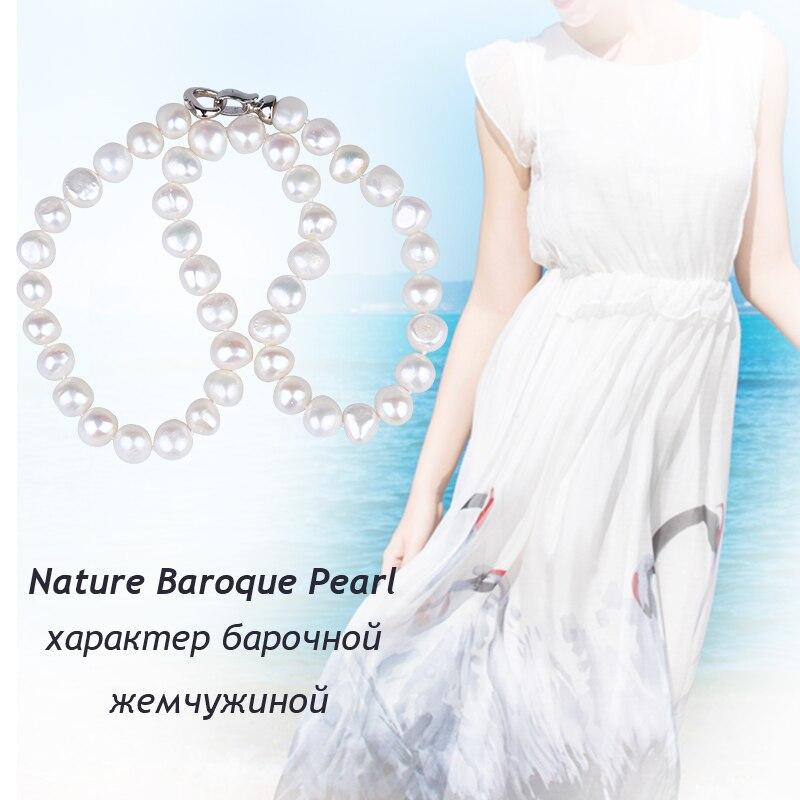 [Zhixi] perlenschmuck feine süßwasser perlenkette natürliche - Edlen Schmuck - Foto 6