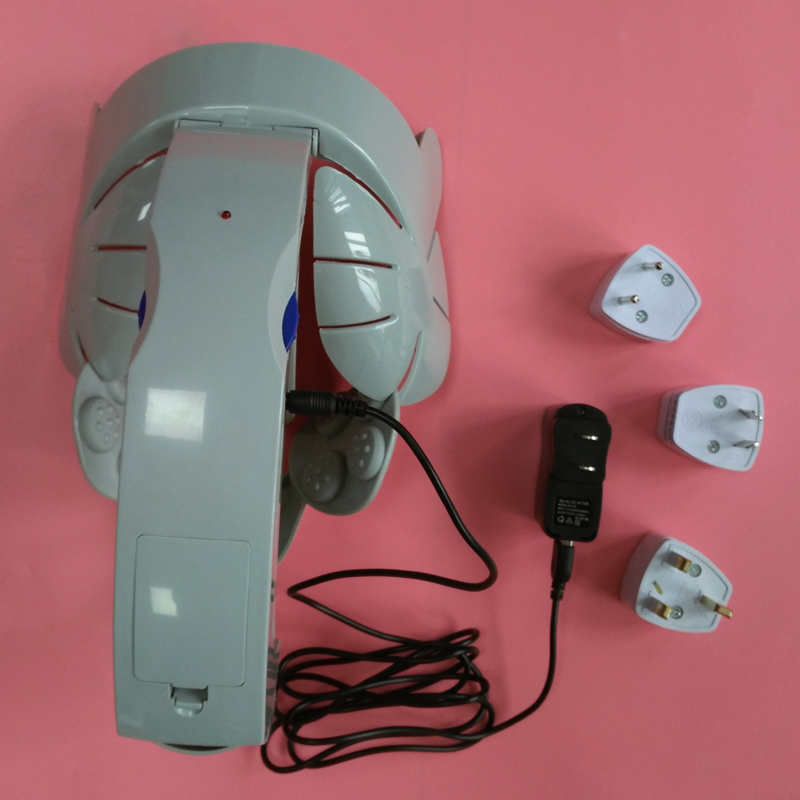 ФОТО Electric Head Massager Vibration Brain Massage Relax Acupuncture Massager USB Battery Two Use