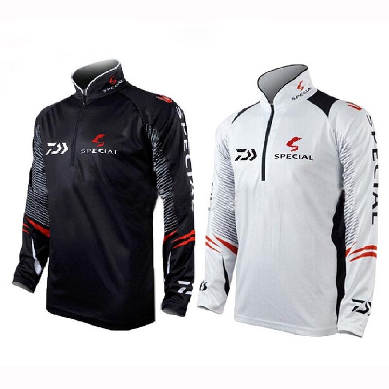 Brand Fishing Clothes 2016 New Daiwa Fishing Shirt Breathable Quick Dry Anti-UV Fishing Clothing SS044