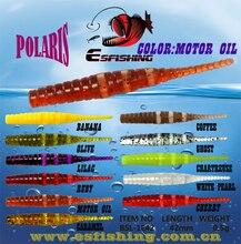 Esfishing Worm Ice Fishing Bait Smooth lure 20pcs Polaris 4.2cm 0.5g Feeder Fishing free shiping Pesca Jerk Pesca Jig Trout Jig