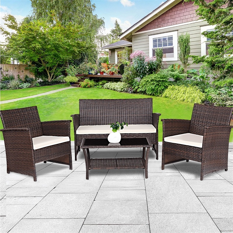 Rattan Furniture Wicker Sofa Set