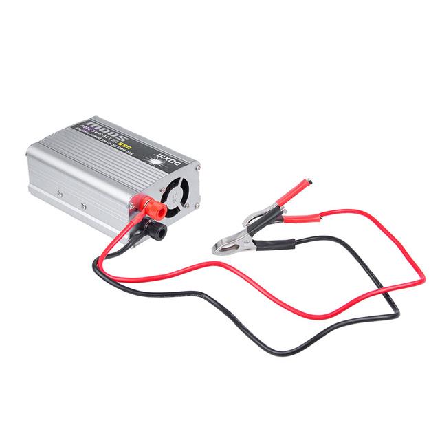 Onever 500W Car Inverter 12v 220v 50Hz Auto Inverter 12 220 Cigarette Lighter Plug Power Converter Inverter Peak Power 1000W