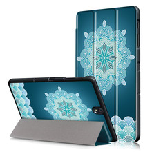 Tempered Glass Display Protector Movie + Robust Case Cowl For Samsung Galaxy Tab S3 9.7 T820 T825 9.7″ Pill