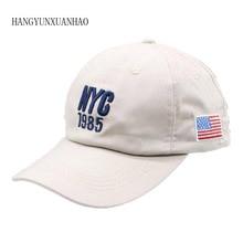 цена на New Brand  Cotton NYC 1985 Baseball Cap Gorra Trucker Golf Hats Snapback Hat Casquette Summer Sports USA Hip Hop Cap