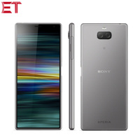 New Sony Xperia 10 Plus I4293 4G LTE Mobile Phone 6.5 6GB RAM 64GB ROM Snapdragon 636 Octa Core Android 9.0 Dual SIM NFC Phone