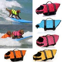 Perro Ropa para Mascotas Chaleco Salvavidas Chaleco Salvavidas Seguridad Verano 30S2Q Saver Conservador traje de Baño de Natación Chaleco Salvavidas Perro Grande