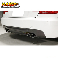 For 2007 2013 BMW E92 3 Series M Tech M Sport 3D Style Rear Diffuser Carbon Fiber