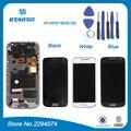 Черный Для Samsung Galaxy S4 mini GT-i9195 i9190 i9192 для Samsung S4 mini ЖК-Экран Ассамблею Дигитайзер Сенсорный с кадр