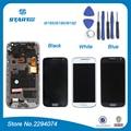 Preto para samsung galaxy s4 mini gt-i9195 i9190 i9192 para samsung s4 mini display lcd touch screen digitador assembléia com quadro